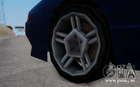 Elegy New SWZ für GTA San Andreas zurück linke Ansicht