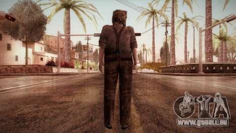 RE4 Dr. Salvador from Mercenaries pour GTA San Andreas troisième écran
