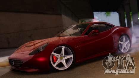 Ferrari California v2.0 für GTA San Andreas Innenansicht