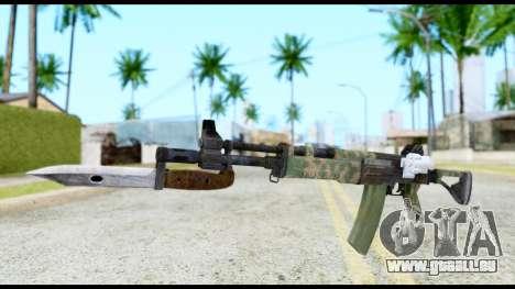 AK-47 from Resident Evil 6 für GTA San Andreas
