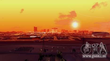 Skybox Real Stars and Clouds v2 pour GTA San Andreas quatrième écran