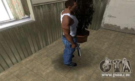 Full Silver Deagle pour GTA San Andreas troisième écran