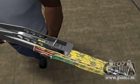 Ganja SPAS-12 pour GTA San Andreas