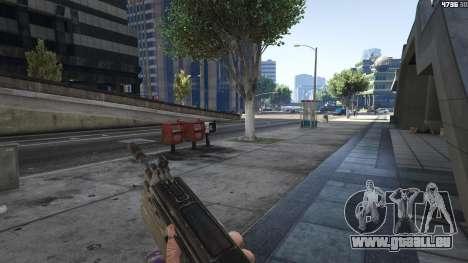 GTA 5 Gears of War Lancer 1.0.0 sechster Screenshot