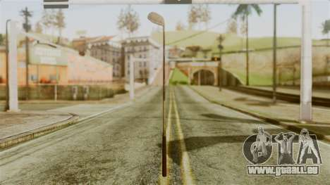 Golf Club from Silent Hill Downpour pour GTA San Andreas