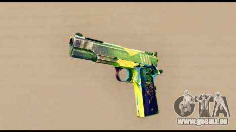 Brasileiro Pistol für GTA San Andreas