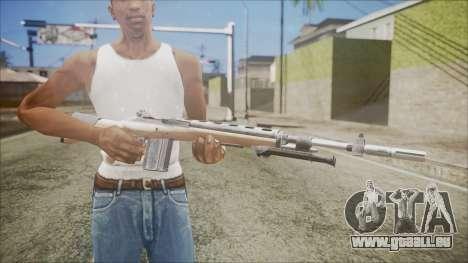 M14 from Black Ops für GTA San Andreas dritten Screenshot