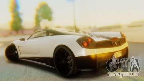 GTA 5 Pegassi Osiris IVF pour GTA San Andreas laissé vue