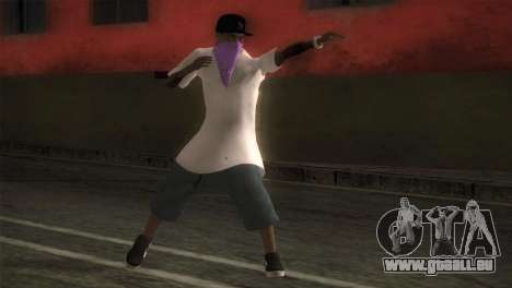 East Side Ballas Member für GTA San Andreas