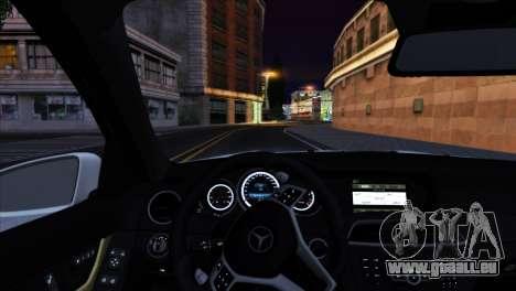 Mercedes-Benz C63 AMG 2013 für GTA San Andreas Motor