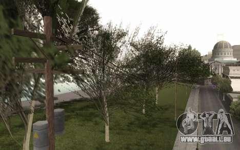 Une copie de l'original arbres pour GTA San Andreas