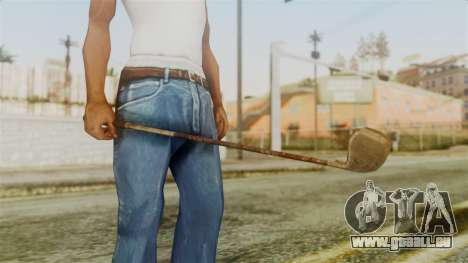 Golf Club from Silent Hill Downpour pour GTA San Andreas deuxième écran