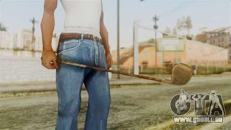 Golf Club from Silent Hill Downpour für GTA San Andreas zweiten Screenshot