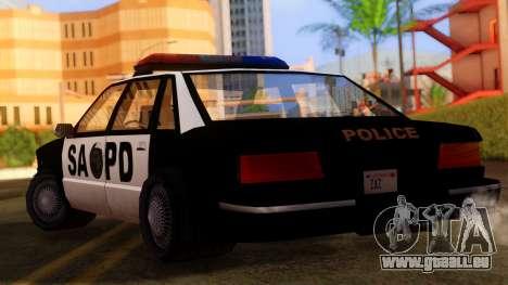 Police SA Premier für GTA San Andreas linke Ansicht