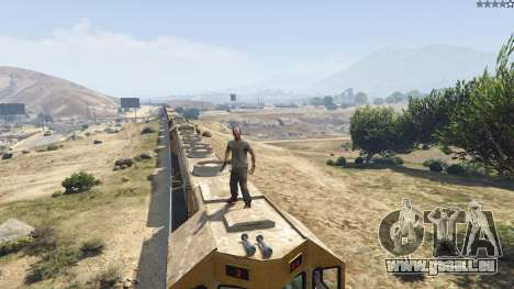GTA 5 Improved freight train 3.8 dixième capture d'écran