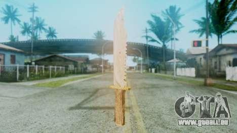 Red Dead Redemption Knife pour GTA San Andreas deuxième écran