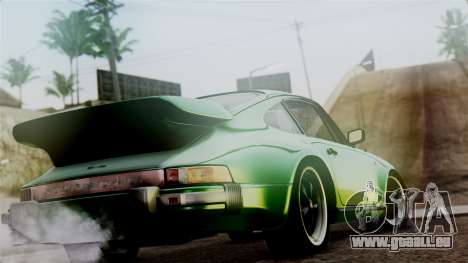Porsche 911 Turbo (930) 1985 Kit A PJ für GTA San Andreas linke Ansicht