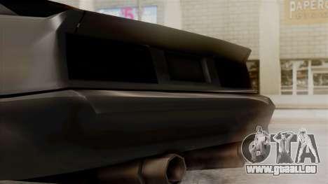 Buffalo New Edition pour GTA San Andreas vue de droite