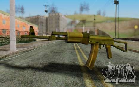 AK-74P pour GTA San Andreas