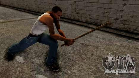 Steel Pipe pour GTA San Andreas troisième écran