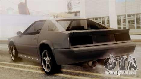 Buffalo New Edition pour GTA San Andreas laissé vue