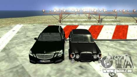 Mercedes-Benz 300 SEL 6.8 AMG W109 pour GTA 4 est un côté
