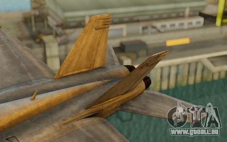 FA-18F Super Hornet BF4 für GTA San Andreas zurück linke Ansicht