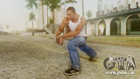 Iron Dagger pour GTA San Andreas troisième écran