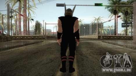 Thor Custom Skin für GTA San Andreas dritten Screenshot