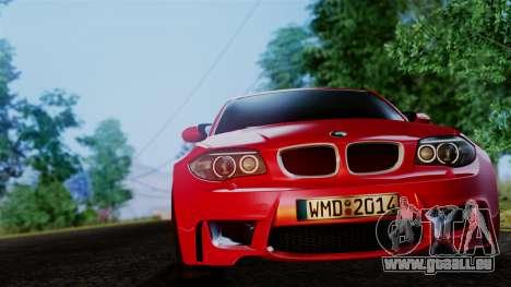 BMW 1M E82 v2 pour GTA San Andreas