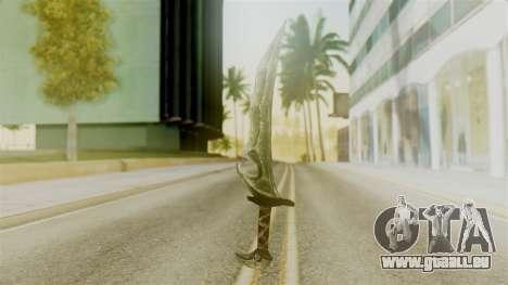 Orcish Dagger für GTA San Andreas zweiten Screenshot