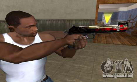 Totenkopf Deagle für GTA San Andreas dritten Screenshot