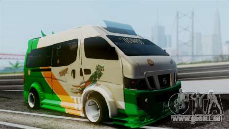 Nissan NV350 Urvan Leonardo pour GTA San Andreas