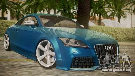 Audi TT RS 2011 v3 für GTA San Andreas