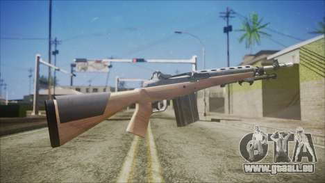 M14 from Black Ops für GTA San Andreas zweiten Screenshot