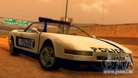 Police Infernus für GTA San Andreas