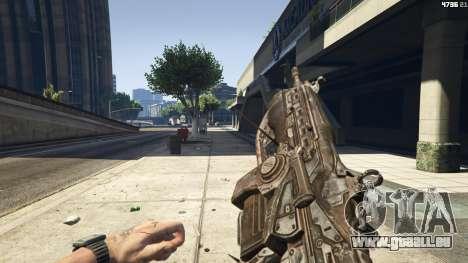 GTA 5 Gears of War Lancer 1.0.0 vierten Screenshot