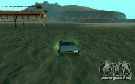 Cars Water für GTA San Andreas dritten Screenshot