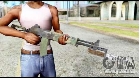AK-47 from Resident Evil 6 pour GTA San Andreas troisième écran