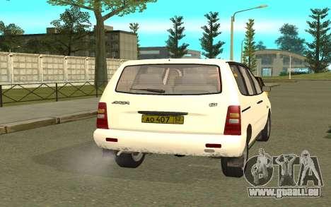 VAZ 2120 pour GTA San Andreas laissé vue