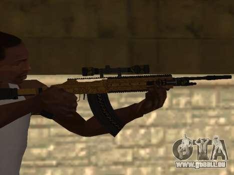 Marksman Rifle für GTA San Andreas
