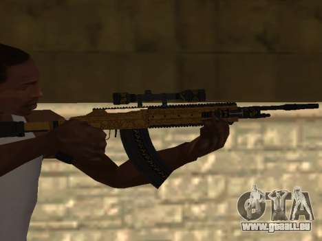 Marksman Rifle pour GTA San Andreas