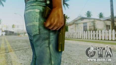 M1911 Pistol pour GTA San Andreas troisième écran