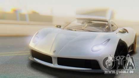 GTA 5 Pegassi Osiris IVF pour GTA San Andreas sur la vue arrière gauche