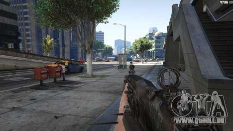 GTA 5 Gears of War Lancer 1.0.0 fünfter Screenshot