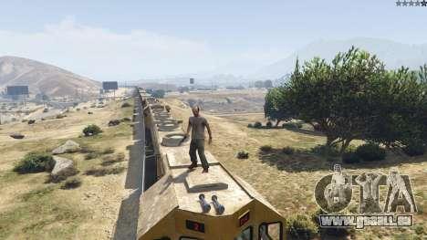 GTA 5 Improved freight train 3.8 neuvième capture d'écran