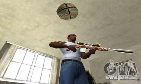 Sniper Fish Power pour GTA San Andreas troisième écran