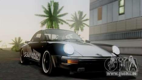 Porsche 911 Turbo (930) 1985 Kit A pour GTA San Andreas vue intérieure
