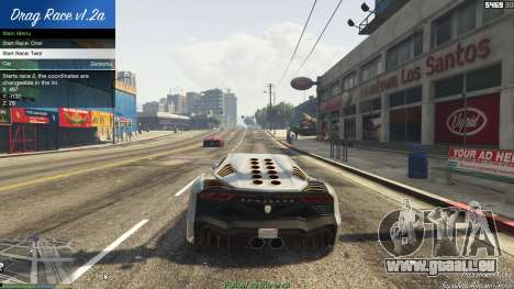 GTA 5 Drag Race 1.2a septième capture d'écran