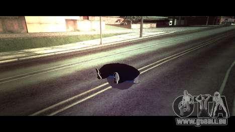 La peau traceur chaise alite RENOMMÉE Magasin pour GTA San Andreas troisième écran